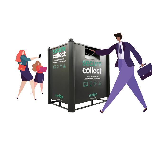 design-illustration-secure-collect-recipo