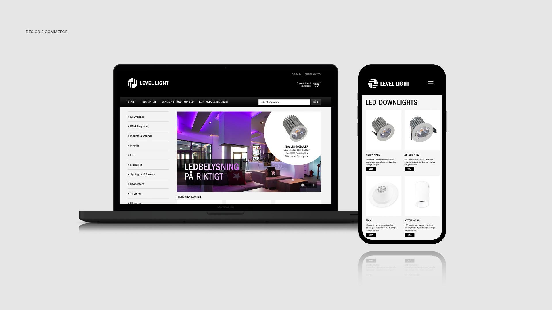 design-levellight-web