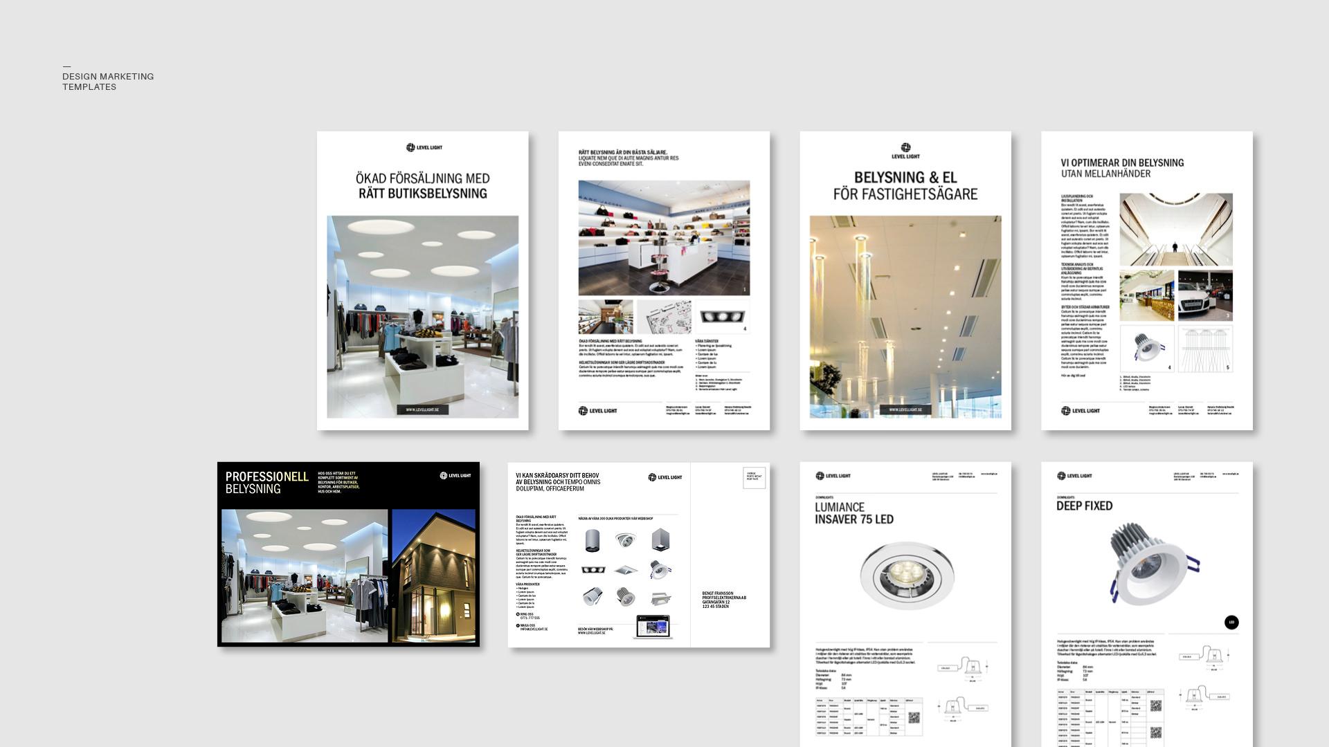 levellight-logotype-marketing-templates