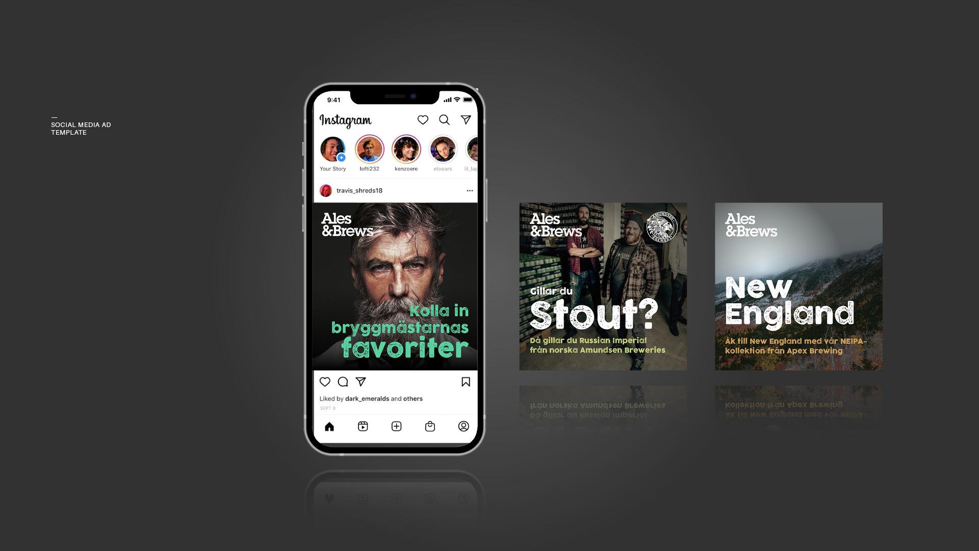 social-media-design-ales-brews
